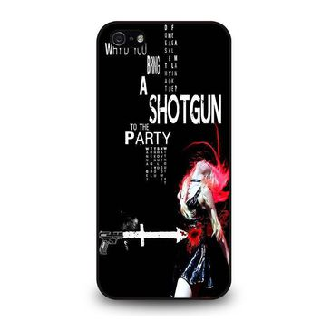the pretty reckless quotes iphone 5 5s se case cover  number 1
