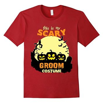 This is my scary Groom costume T-Shirt