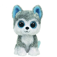 1pcs 18cm  Beanie  Big Eyes Husky Dog and Owl Plush Toy Doll Stuffed Animal Cute Plush Toy Kids Toy  Boos 2016 Hot Sale