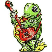 Guitar Playing Turtle Patch