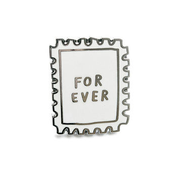 Forever Stamp Lapel Pin