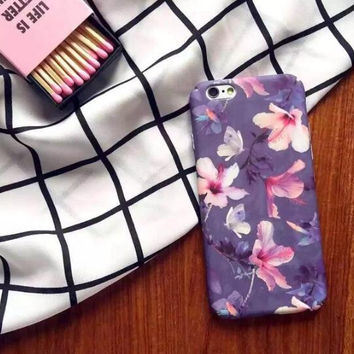 Fashion lace pattern mobile phone case for iphone 5 5s SE 6 6S 6plus 6s plus