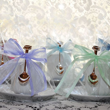 4 Imperial White Tea Cup (Teacup) Favors - Perfect Party Favors