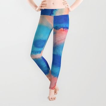 Sea Urchins & Coral Leggings by DuckyB (Brandi)