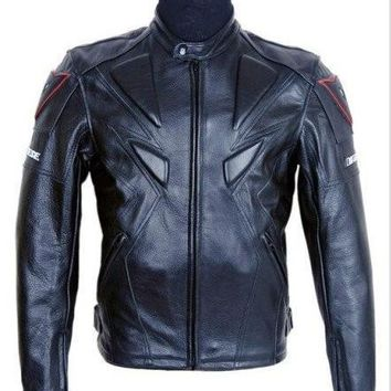 Men's PU Leather Jackets of protective gear high quality