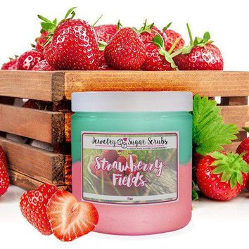 Strawberry Fields Jewelry Sugar Scrub
