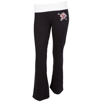 Ohio State Buckeyes - Glitter Logo Cheer Girls Youth Yoga Pants