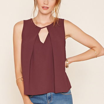 Contemporary Pleated Top