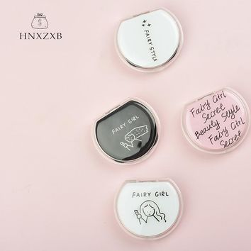 HNXZXB  Cute Girl Contact Lenses Storage Box Cartoon Rabbit Contact lens Box Eyes Care Kit Holder Travel  Cleaner Container