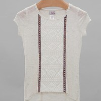 Women's Girls - Pieced Lace Top in Cream by Daytrip.