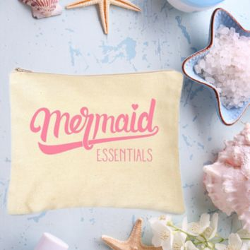 Mermaid Essentials Makeup Bag (Natural)