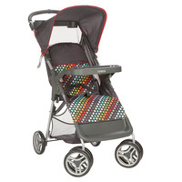 Cosco Lift & Stroll™ Convenience Stroller (Rainbow Dots) CV286DCD