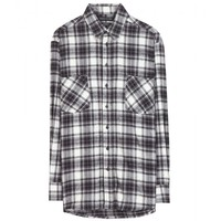 each x other - plaid cotton shirt
