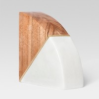 Marble and Wood Bookend - Project 62™