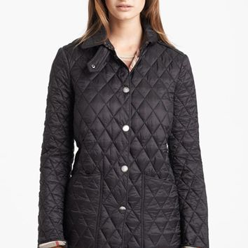 Women's Burberry Brit 'Pirmont' Quilted Jacket