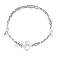Anchor Precious Threads Bracelet