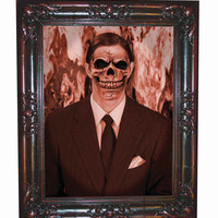 Halloween Decorations Haunted Paintings Gentleman Large