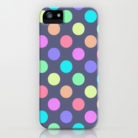 Polka Dot Love iPhone & iPod Case by Pink Berry Pattern