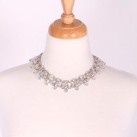 Crystal Garbo Necklace