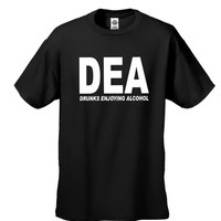 DEA Drunks Enjoying Alcohol Men's  T-shirt