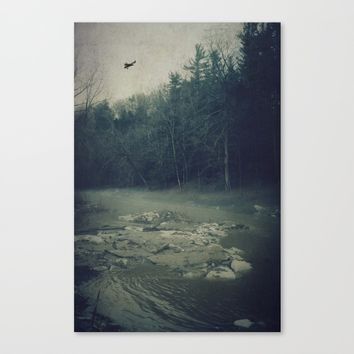 Darkness Prevails Canvas Print by Faded  Photos