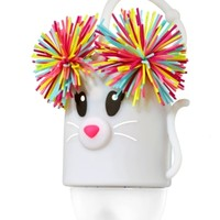 Light-Up PocketBac Holder Pom-Pom Mouse