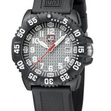Luminox 25th Anniversary Navy Seal Colormark Watch &  SOG Knife Set - Silver