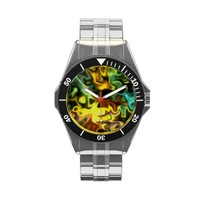 Blue Swirl and Modern art Watches from Zazzle.com