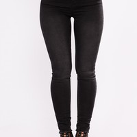 Paxton Ankle Jeans - Black