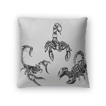 Throw Pillow, Tattoo Of The Scorpions 3