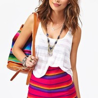 Baja Stripe Shorts