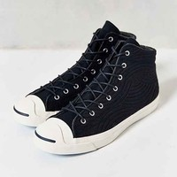 Converse Jack Purcell Mid-Top Men's Sneaker- Navy