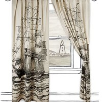 Maritime Window Curtains