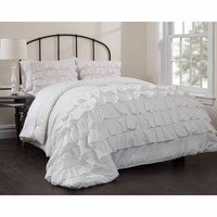 Walmart: Latitude Ruby Ruffle Bedding Comforter Set