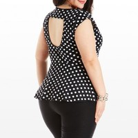Spot-Light on Talent Peplum Top - New - All Categories