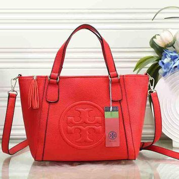 ICIKJG8 Tory Burch Women Fashion Leather Satchel Shoulder Bag Handbag Crossbody