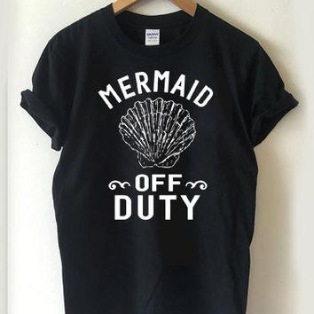 Mermaid Off Duty T-shirt Men, Women, Youth and Toddler