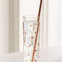 Strawberry Juice Glass | Urban Outfitters