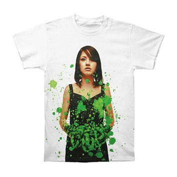 Bring Me The Horizon Men's  Suicide Season Deluxe Green Slim Fit T-shirt White