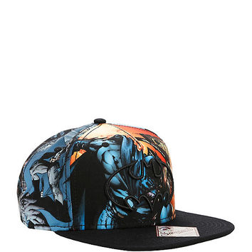 DC Comics Batman Logo Flight Sublimation Snapback Hat