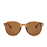 Round Metal-Temple Sunglasses