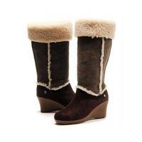 Uggs Boots Black Friday Sandra 5449 Chocolate For Women 125 56