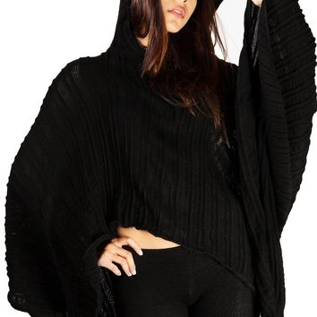 Hoodie Poncho Sexy Chic & Unique KD dance New York Made In USA