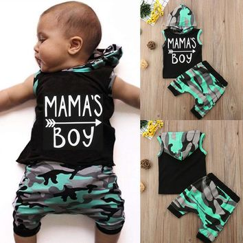 YOUR Favorite Mama's Boy Camo 2 pc Set
