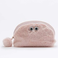 Furry Eyes Make-Up Bag - Urban Outfitters