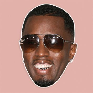 Happy P Diddy Mask by RapMasks