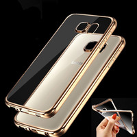Case for Samsung Galaxy J5 J7 A3 A5 A7 Grand Prime S5 S6 S7 Edge Fashion Luxury High Quality Plating Design Cover
