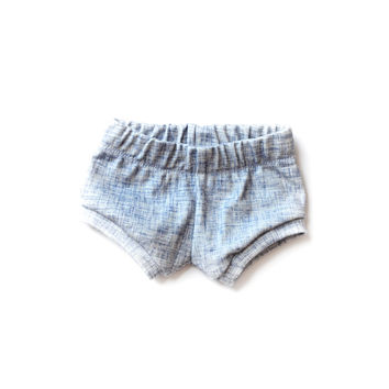 Organic Baby Shorties Acid Jean