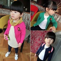 Girl Knitting Cardigans Kids Sweater Autumn Clothing = 1782336836