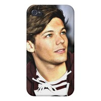Louis Tomlinson iPhone 4/4S Covers from Zazzle.com